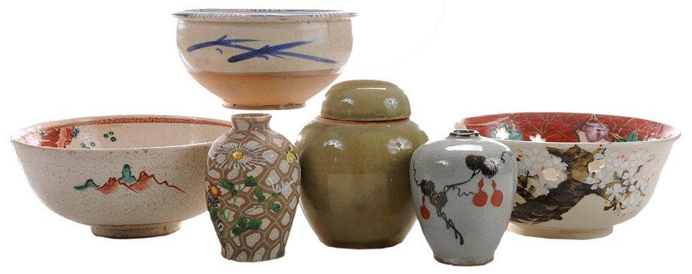Mixed Lot of Stoneware