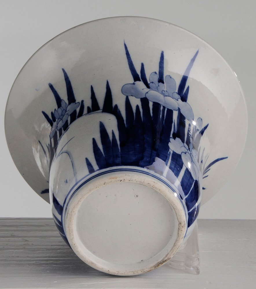 Blue and White Porcelain Charger and - 2