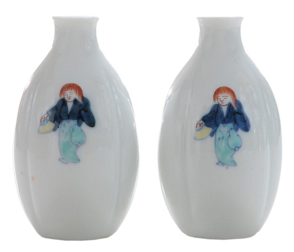 Important Pair of [Kakiemon] Porcelain