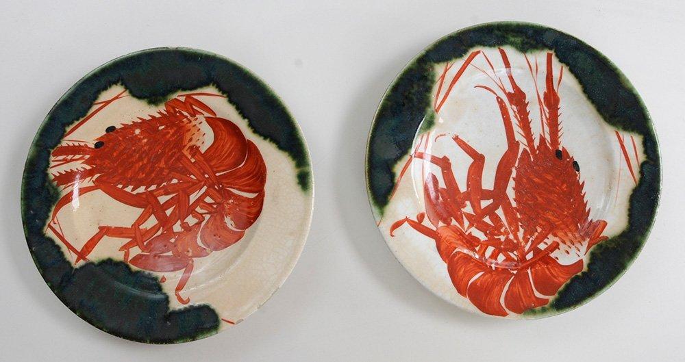 Nine Pieces of [Oribe] Stoneware - 3