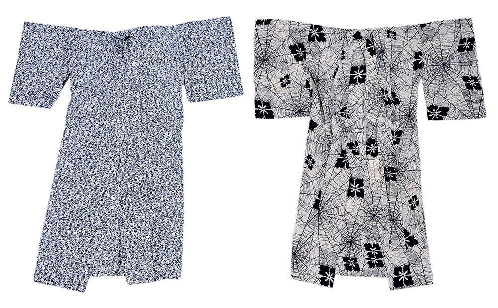 Two Vintage Summer Kimono (Yukata) and