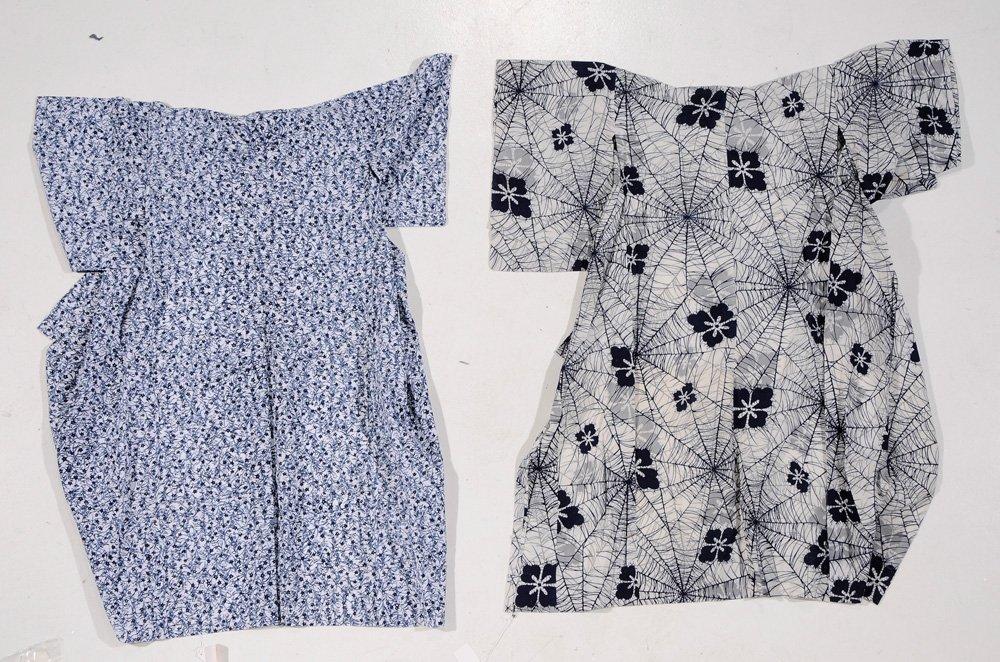 Two Vintage Summer Kimono (Yukata) and - 6