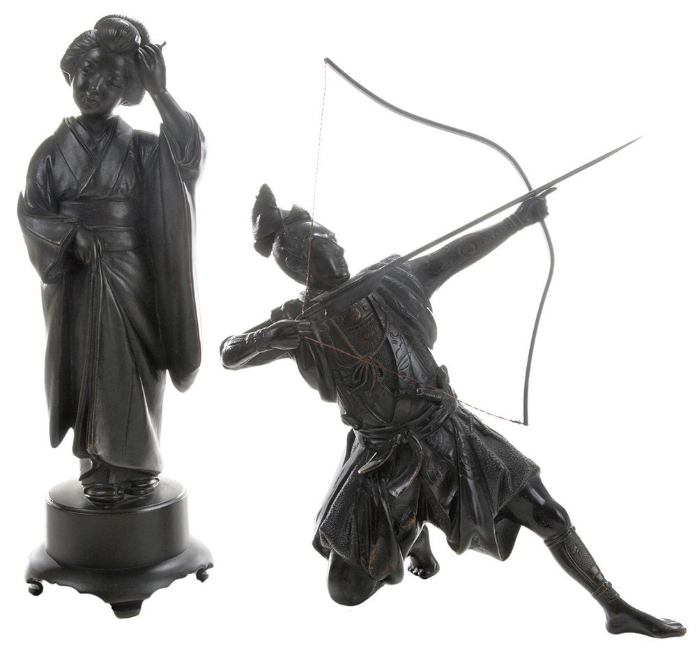 Bronze Samurai Archer and [Bijin]
