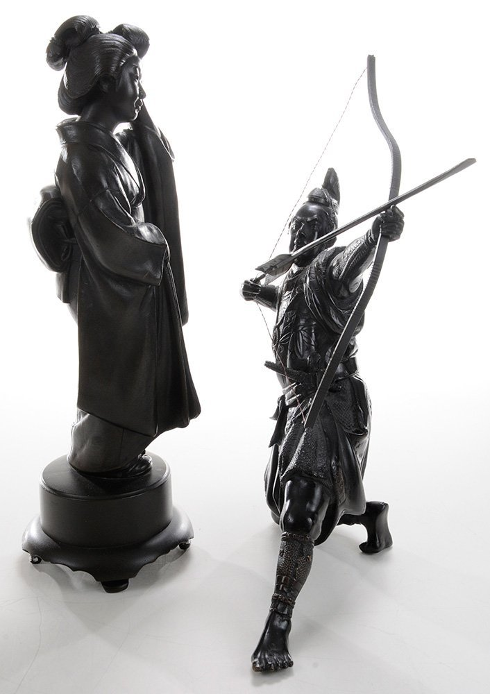 Bronze Samurai Archer and [Bijin] - 2