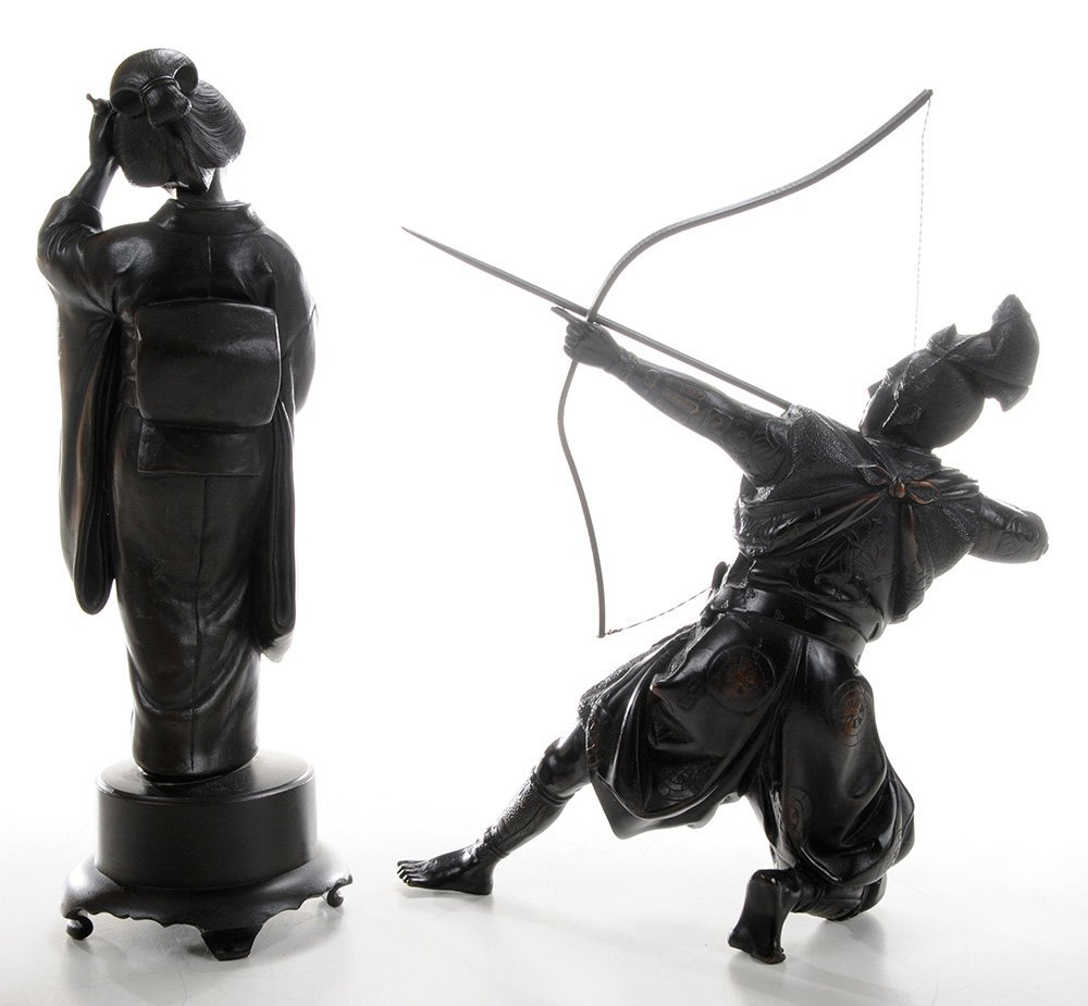 Bronze Samurai Archer and [Bijin] - 3