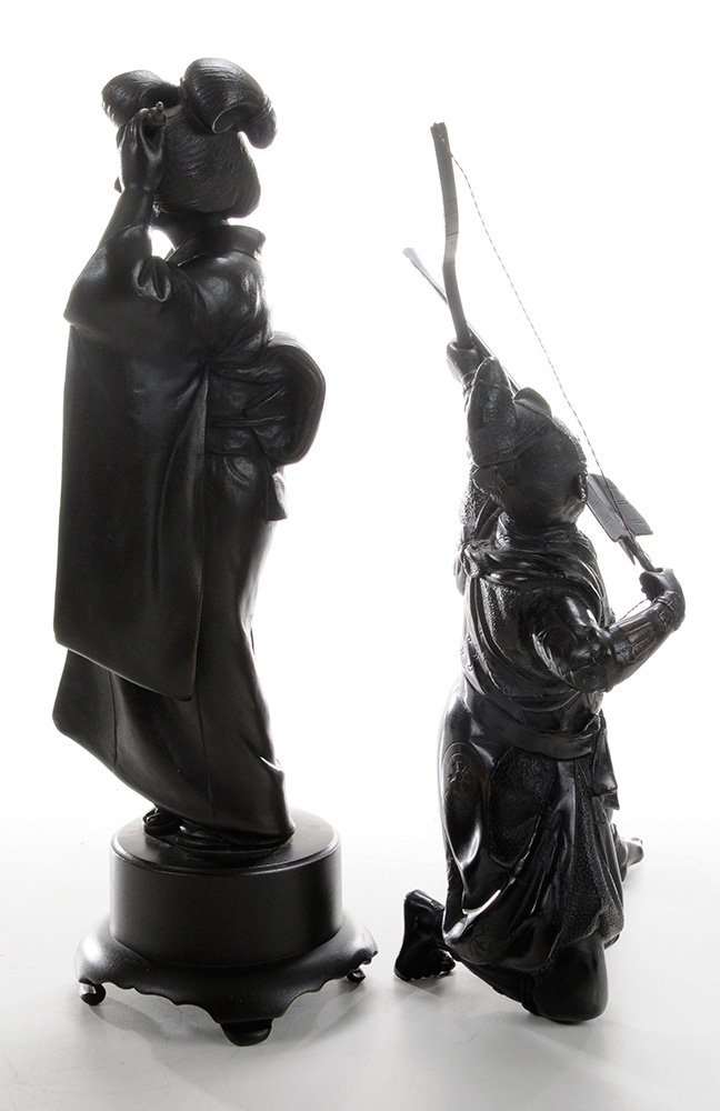 Bronze Samurai Archer and [Bijin] - 4