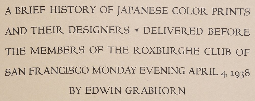 Three Books on Japanese Prints - 3