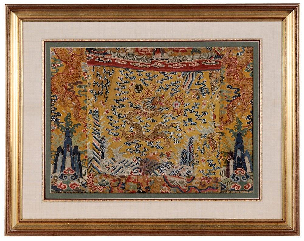 Four Framed Fabrics - 5
