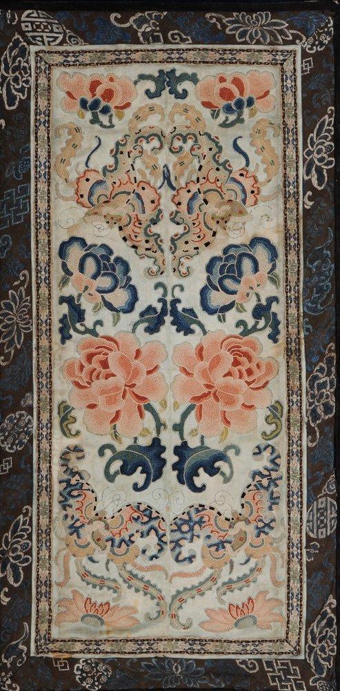 Four Framed Fabrics - 8