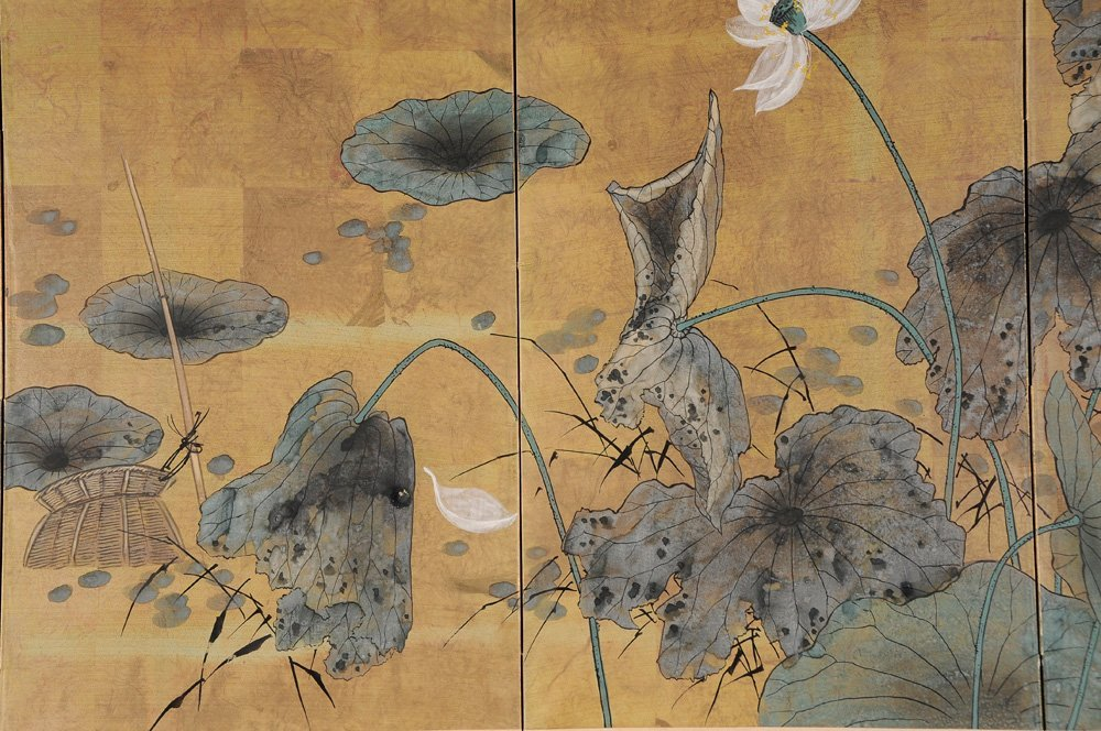 Japanese Four-Panel Table Screen - 3