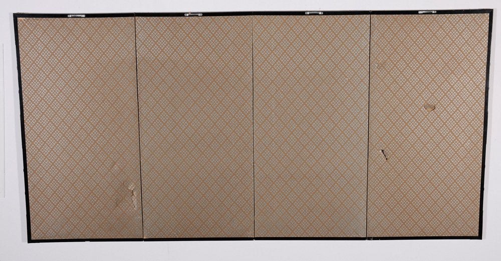 Japanese Four-Panel Table Screen - 5