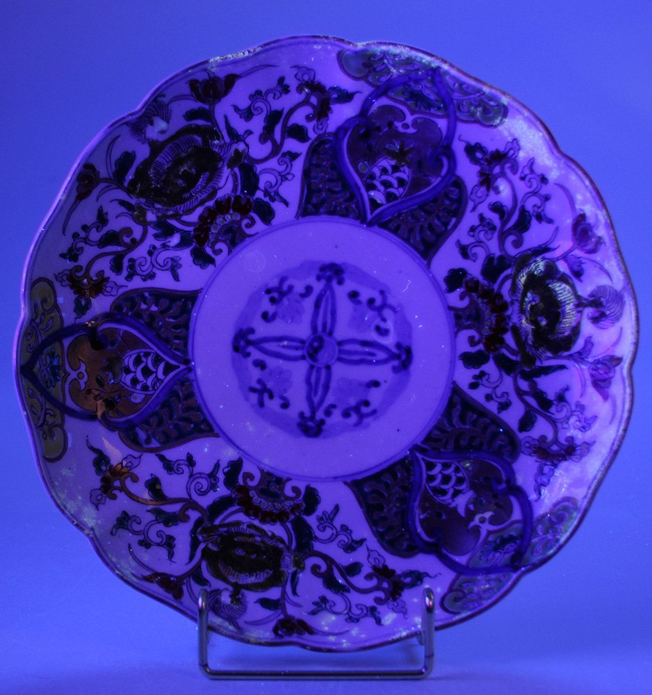 Six Imari Porcelain Deep Plates with - 9