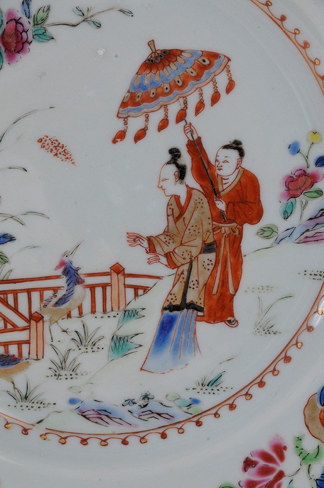 Pair Chinese Export Porcelain - 2