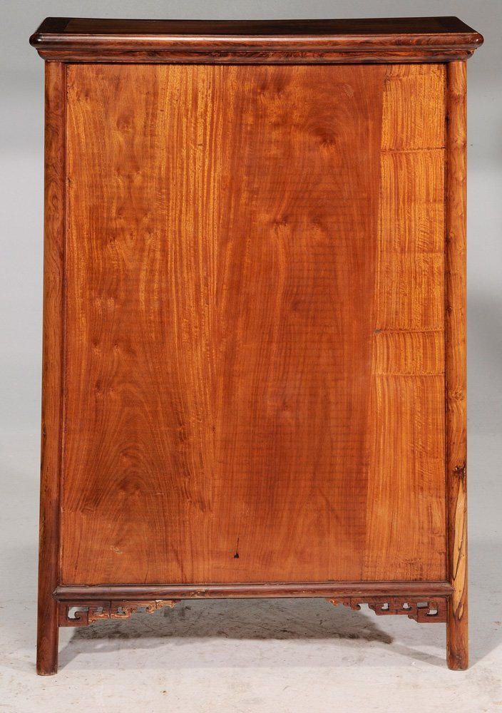 Chinese Carved Figured Hardwood - 2