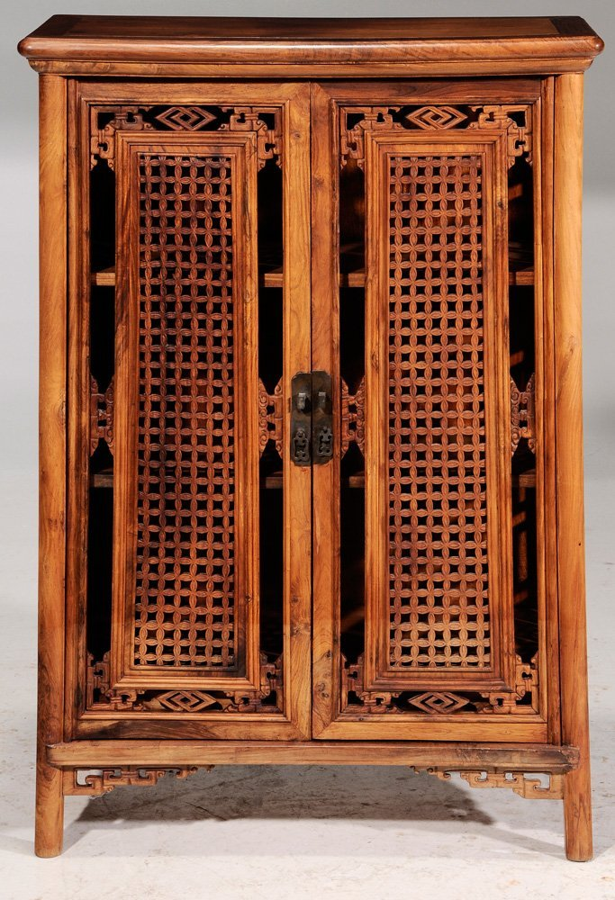 Chinese Carved Figured Hardwood - 5
