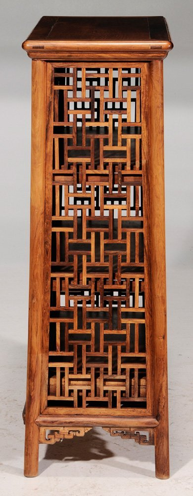 Chinese Carved Figured Hardwood - 6