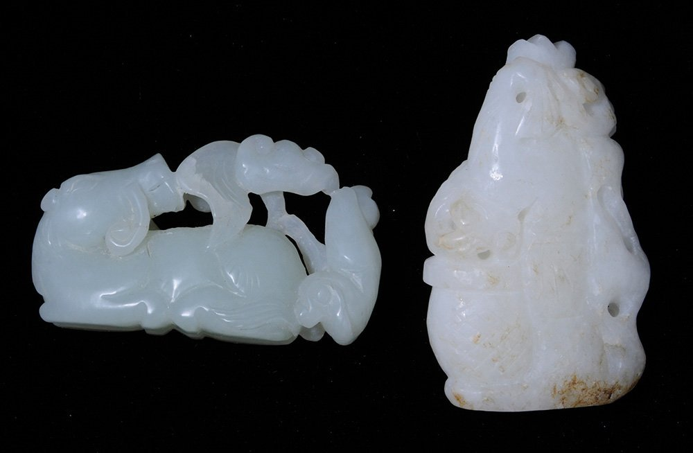 Four Jade Carvings - 3