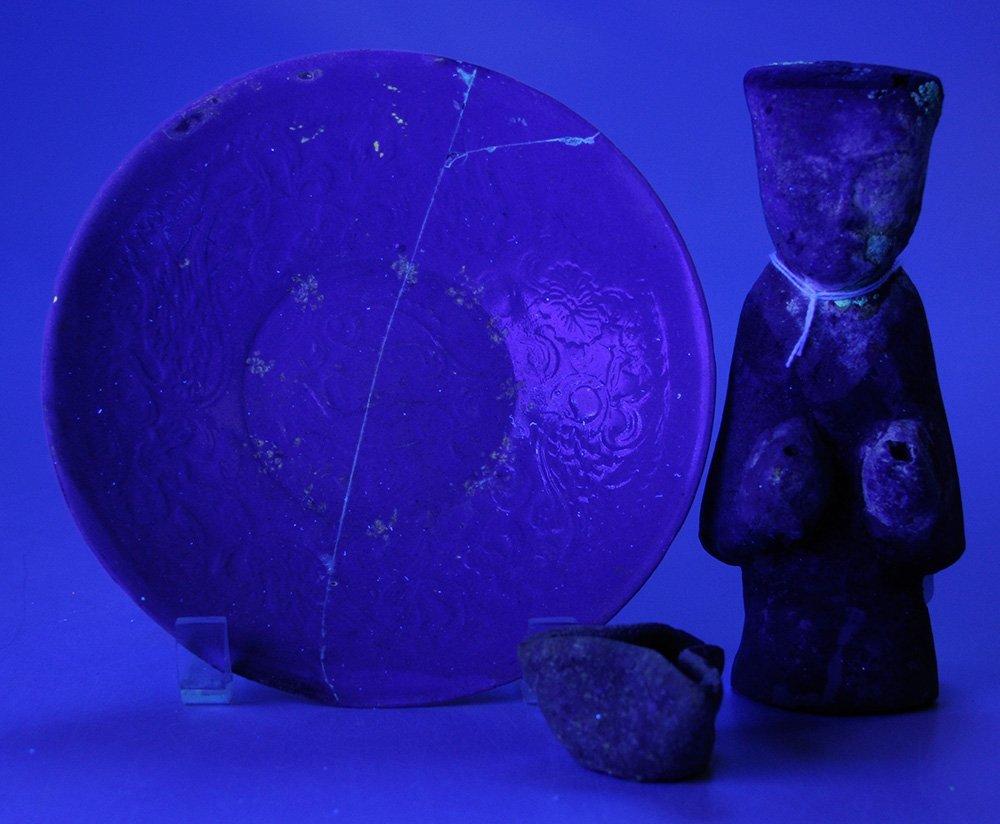 Han Pottery Figure, a Tri-Fold - 5