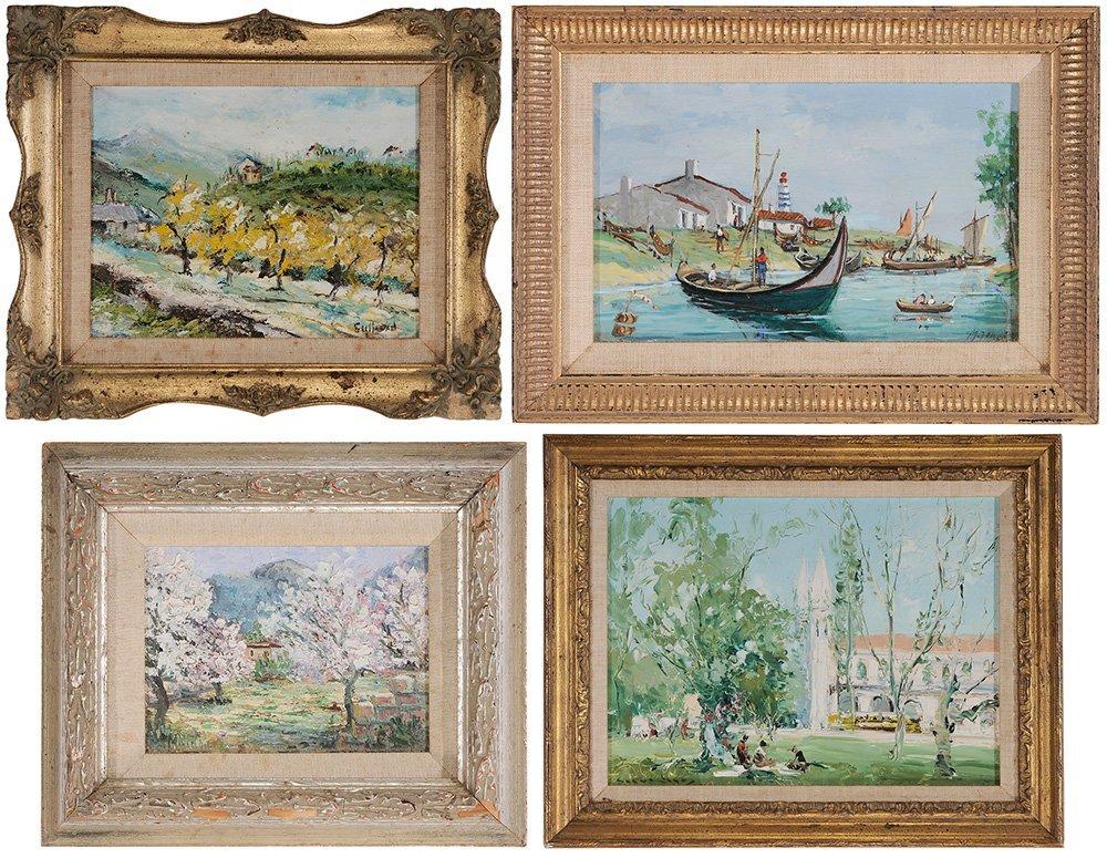 Four Miniature Paintings
