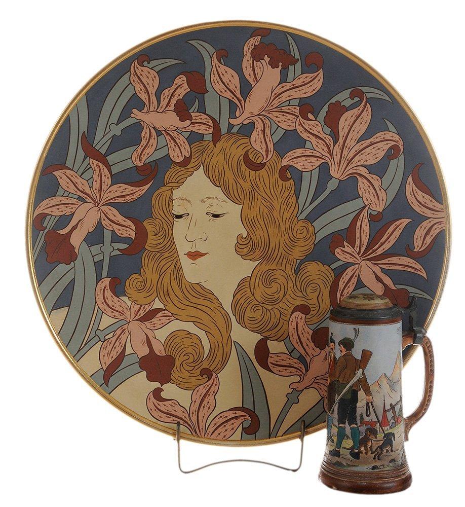 Mettlach/Villeroy & Boch Art Nouveau