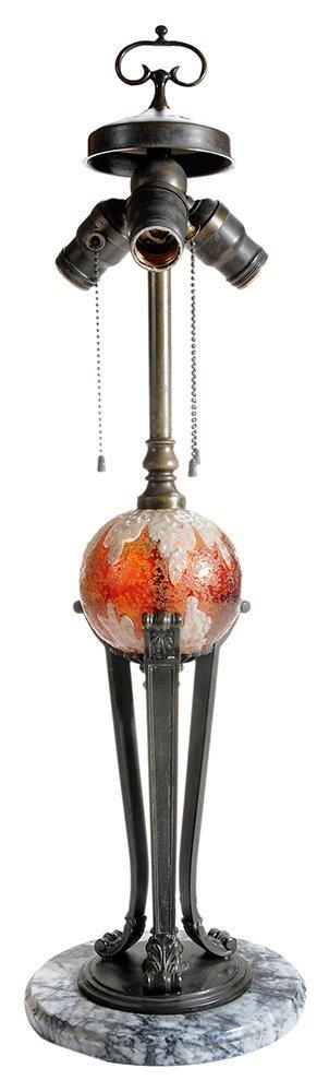 Handel Three-Light Lamp Base
