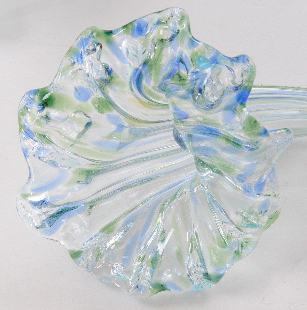 Seven Lundberg Art Glass Flowers, 2002 - 8