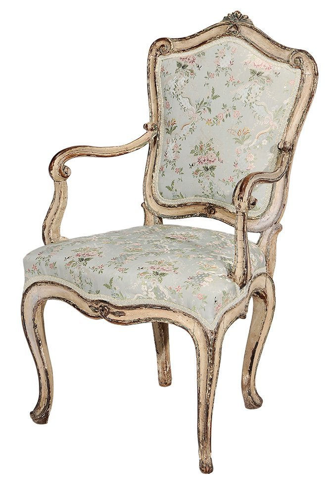 Venetian Louis XV Paint-Decorated and