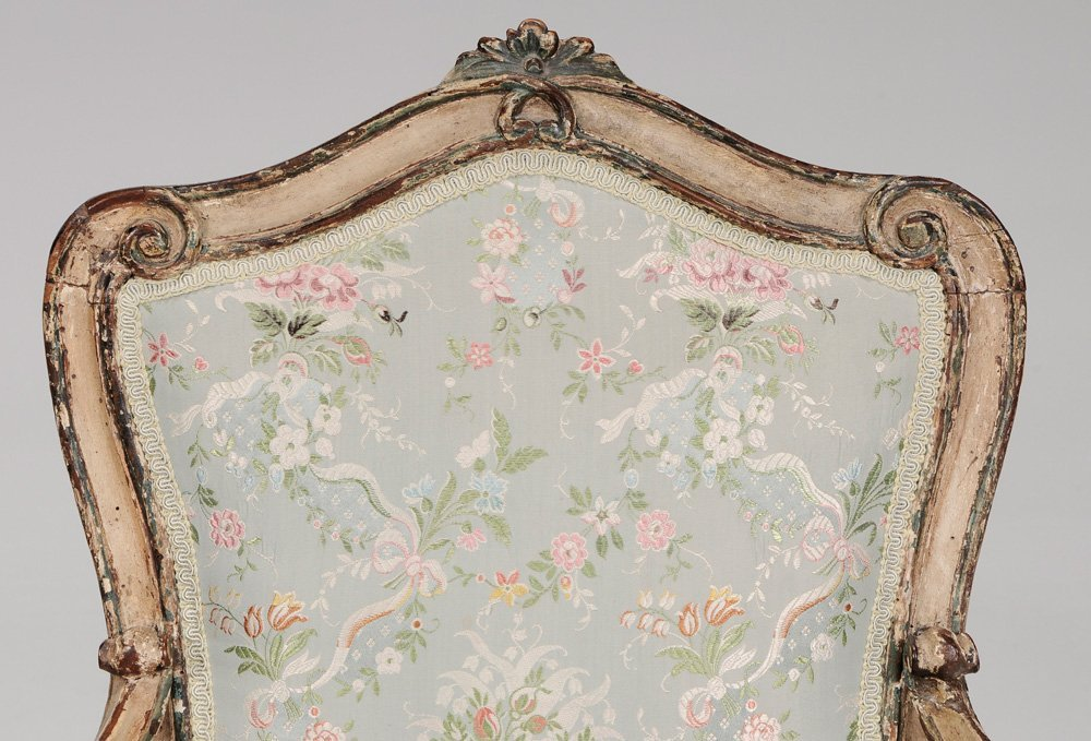 Venetian Louis XV Paint-Decorated and - 2