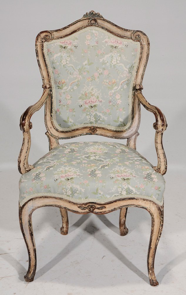 Venetian Louis XV Paint-Decorated and - 3
