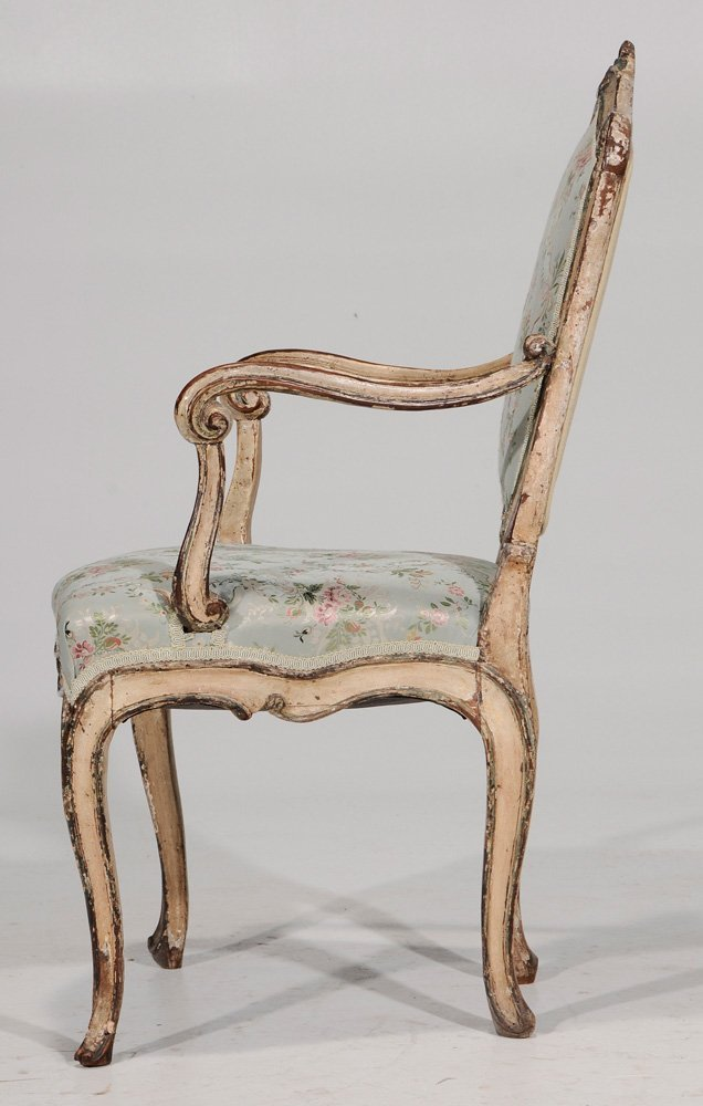 Venetian Louis XV Paint-Decorated and - 4