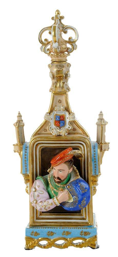Rare Jacob Petit Porcelain Figural