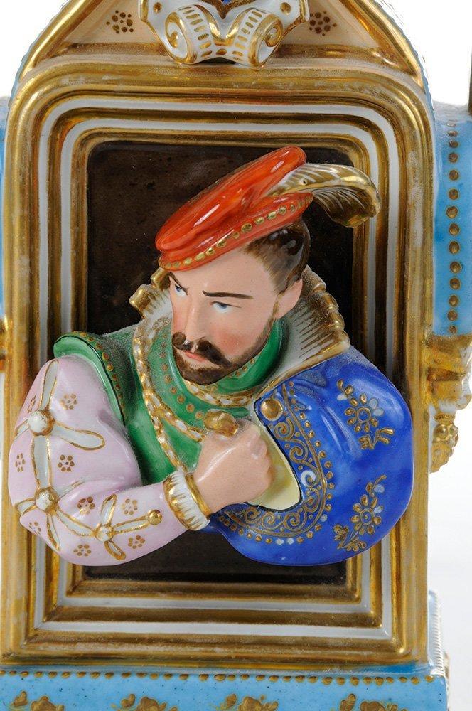 Rare Jacob Petit Porcelain Figural - 3