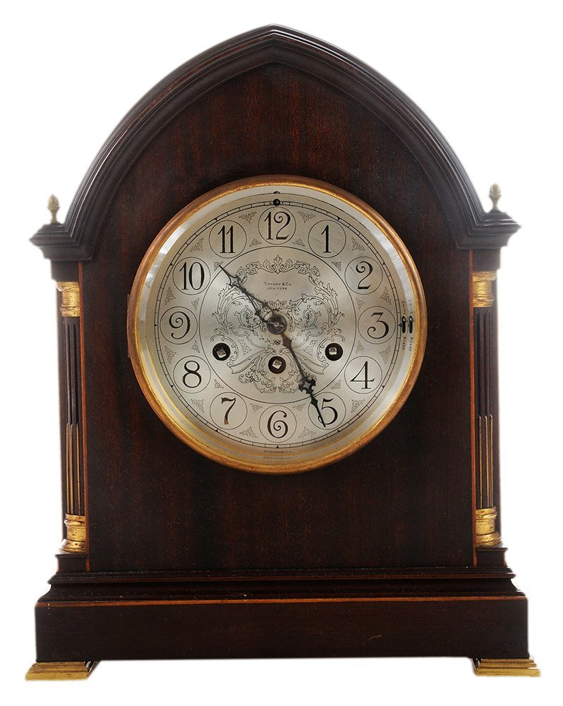 Tiffany & Co. Shelf Chime Clock with