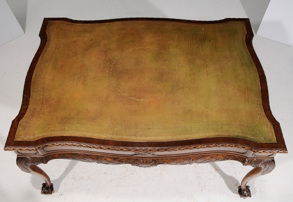 Chippendale Style Carved Mahogany - 4