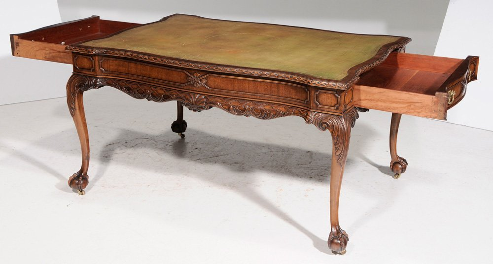 Chippendale Style Carved Mahogany - 8