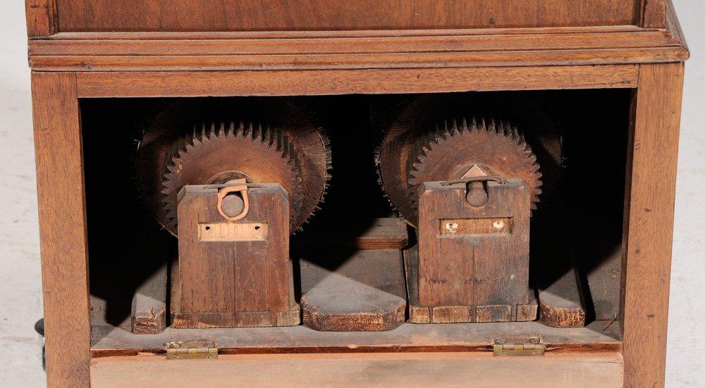 Georgian Mahogany Barrel Organ - 2