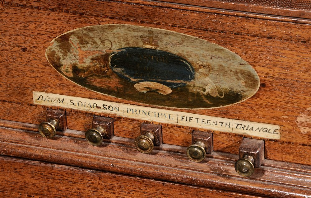 Georgian Mahogany Barrel Organ - 3