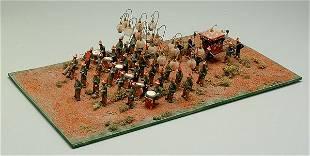 Chinese processional diorama