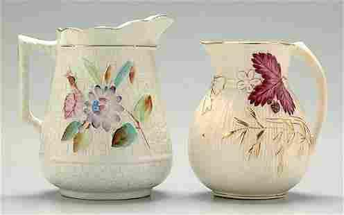 Two English pitchers