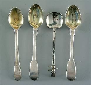 12 pieces silver flatware