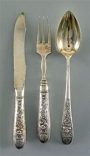 Vienna silver flatware
