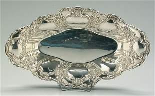 Gorham sterling silver bread tray,