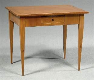 Biedermeier style table,