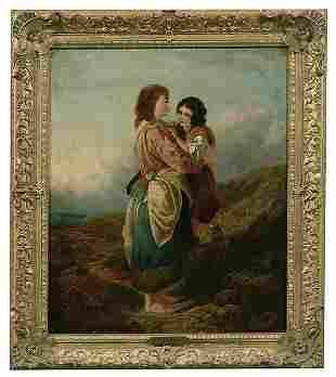 Painting in manner of Kinnaird,