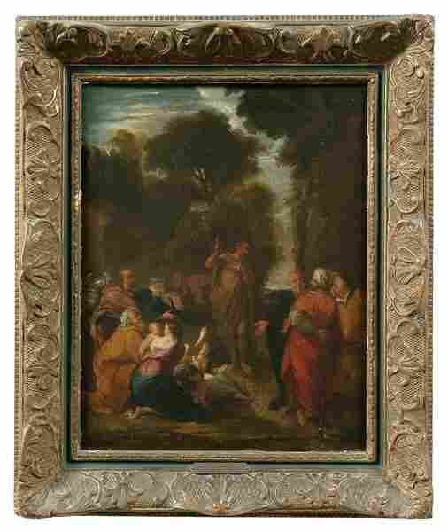 Old Master style painting,