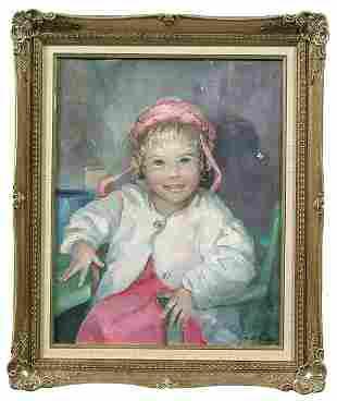 Painting by Florence Kushner Sherman