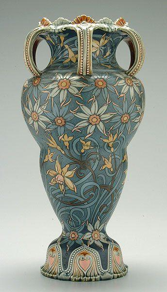 Mettlach vase,