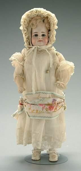 Bisque head doll,