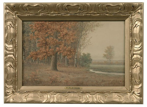 603: Painting by F.M. Dixon