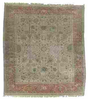 Modern Oushak rug,